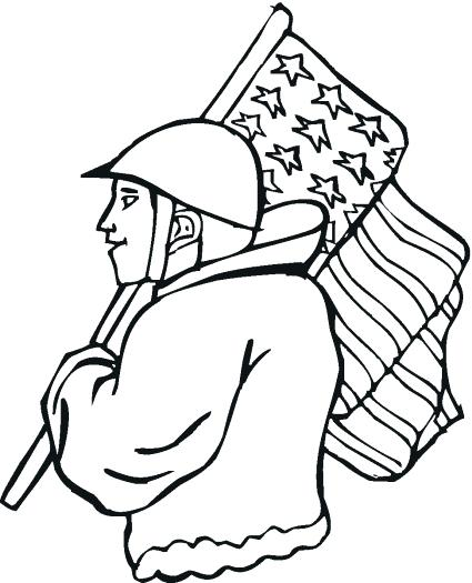 425x525 Veterans Day Color Pages Free Veterans Day Coloring Sheets