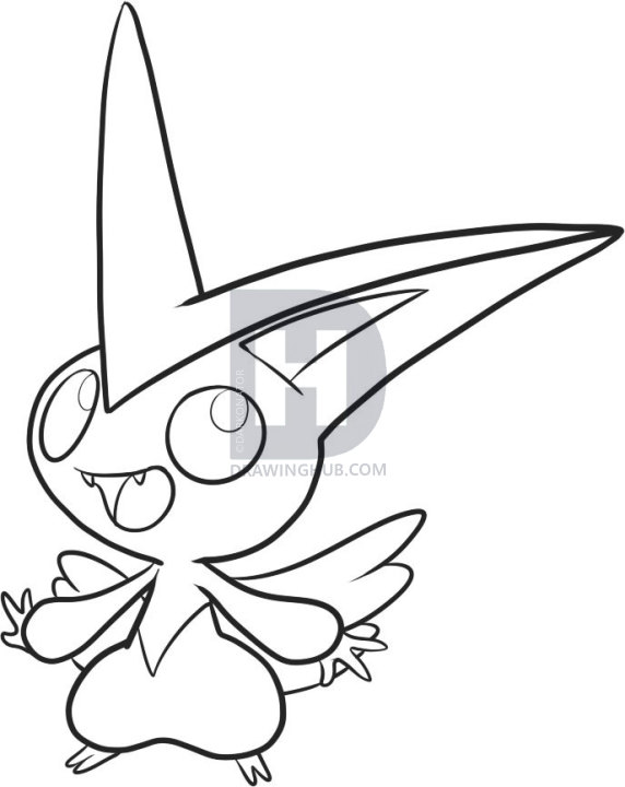 Collection Of Victini Clipart Free Download Best Victini Clipart