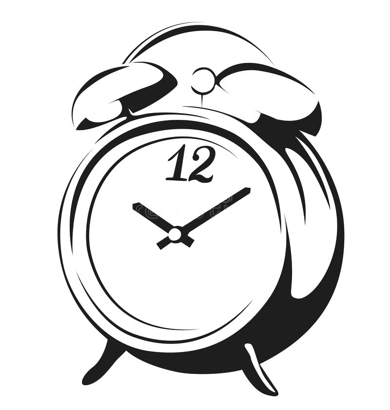 800x841 Clock Drawing Simple For Free Download