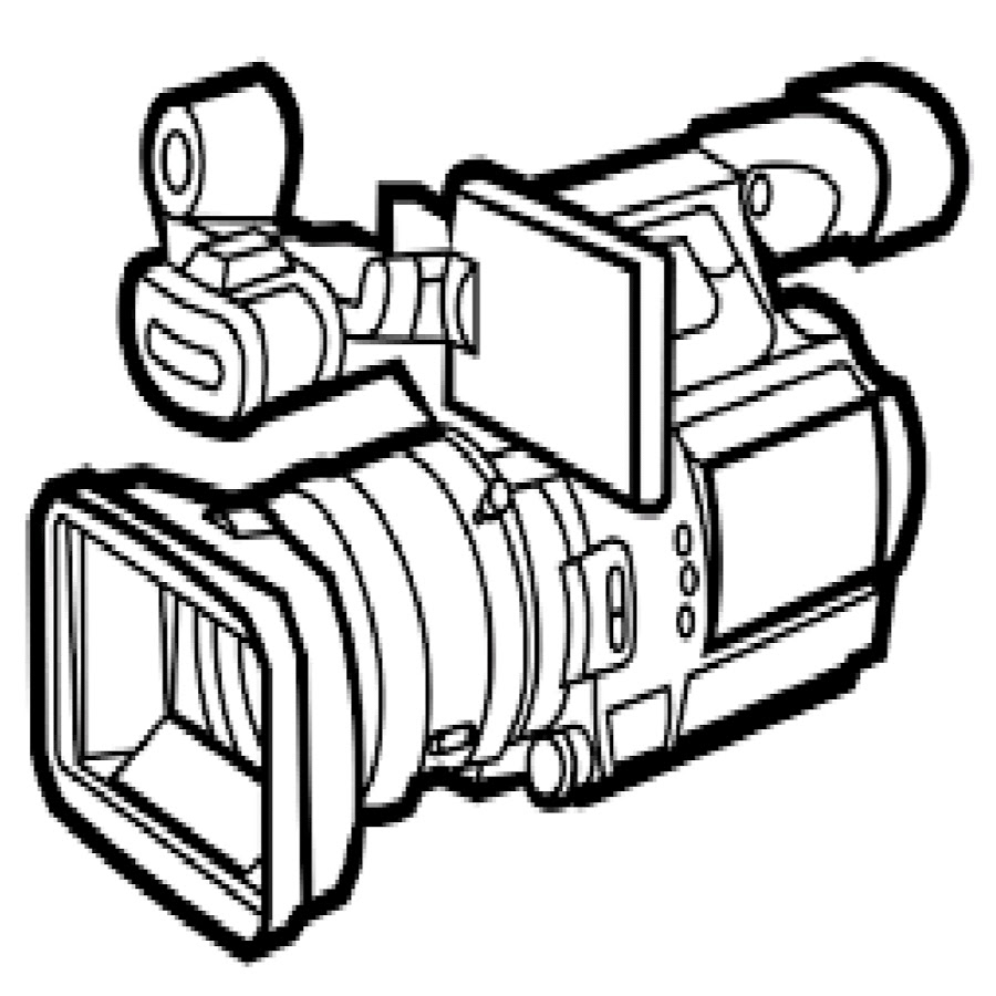 Video Camera Drawing