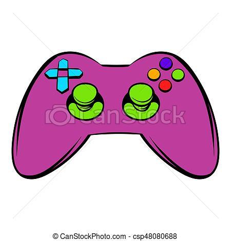 450x470 video game controller icon, icon cartoon video game controller