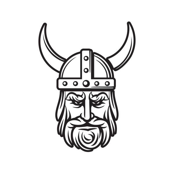 Viking Face Drawing | Free download on ClipArtMag
