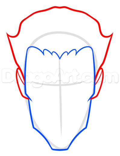 398x520 Step Comic Book Villain Drawing Lesson, The Joker