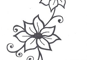 300x210 easy to draw flower vines flowers and vines drawing vines