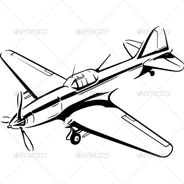 590x590 airplane object airplane vector, vector graphics, airplane