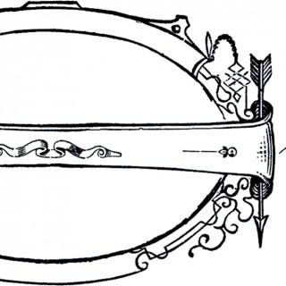 Vintage Arrow Drawing