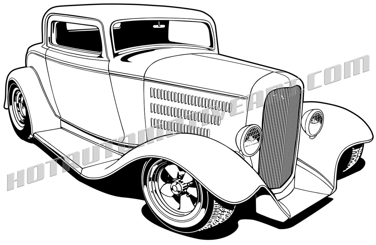 1200x781 Pix For Gt Hot Rod Trucks Clipart Dap Of Drawings Of Cars Rods