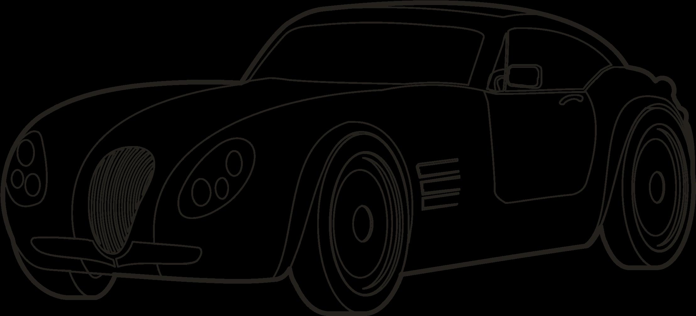 2216x1006 Hd Drawing Sport Car