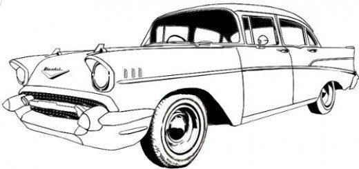 520x245 How To Draw Cars Easy Journal