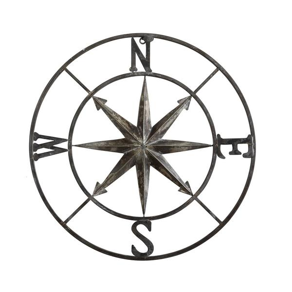 600x600 Distressed Compass Rose Hidden Barn