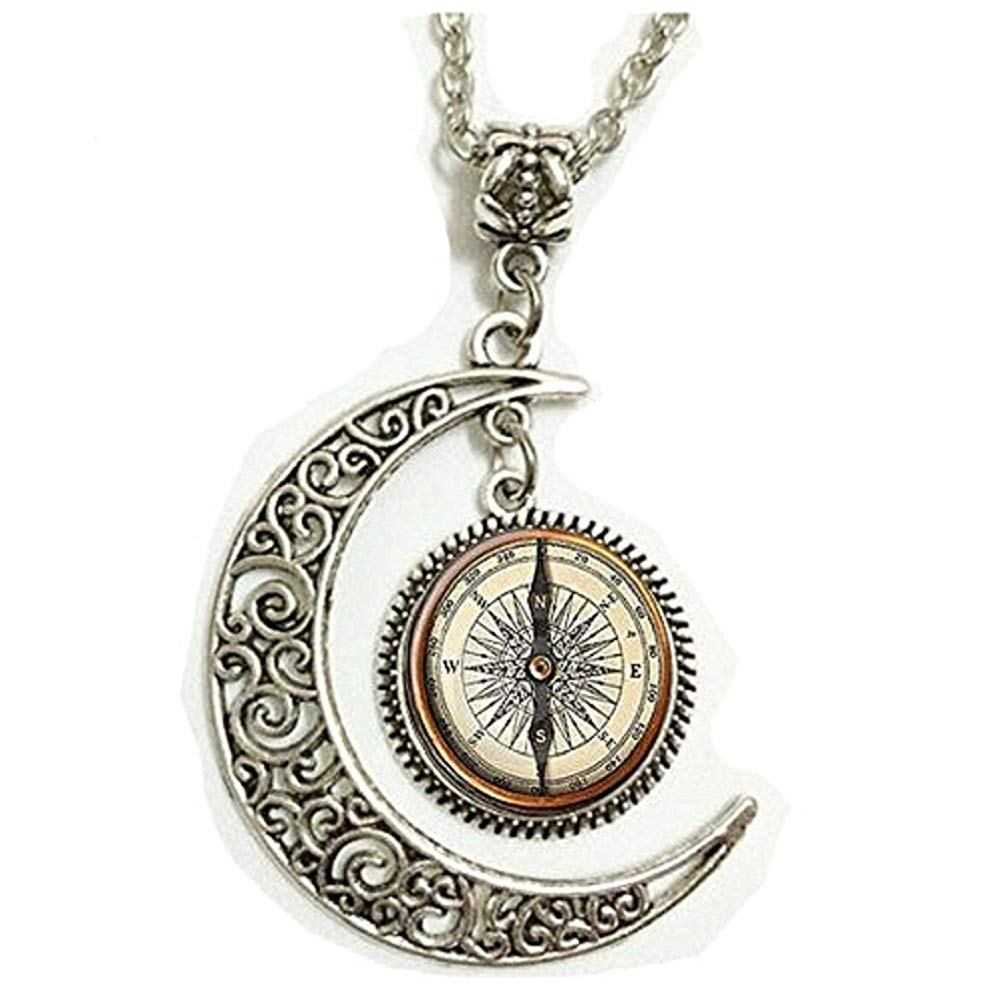 1000x1006 Bonlting Steampunk Compass Pendant, Steampunk Compass
