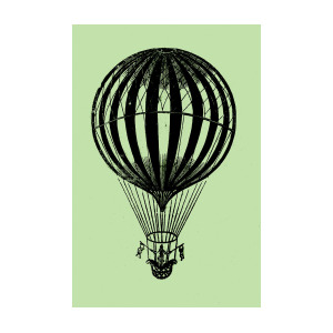 300x300 Hot Air Balloon Drawing