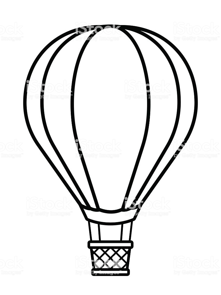 768x1024 Huge Collection Of 'hot Air Balloon Clipart' Download More Than