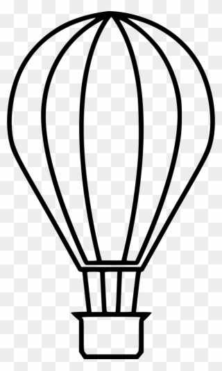 320x533 Vintage Hot Air Balloon Clipart Transparent Stick