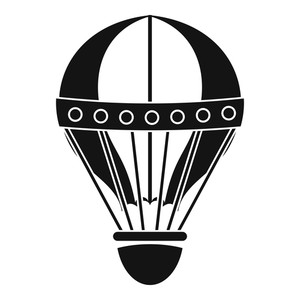 300x300 Vintage Hot Air Balloon Royalty Free Vectors