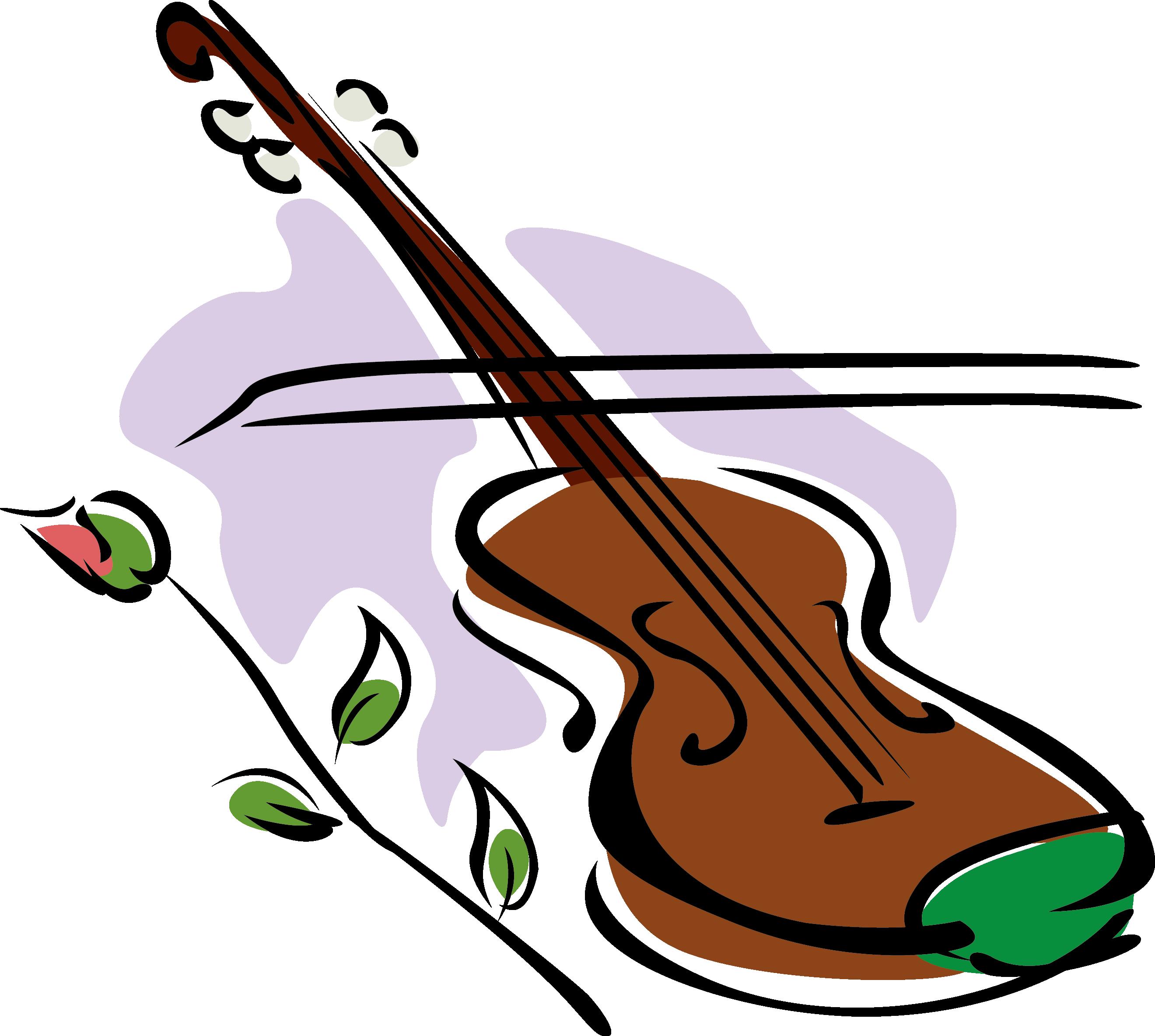 Violin Drawing Clip Art