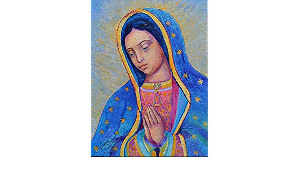 Virgen De Guadalupe Drawing