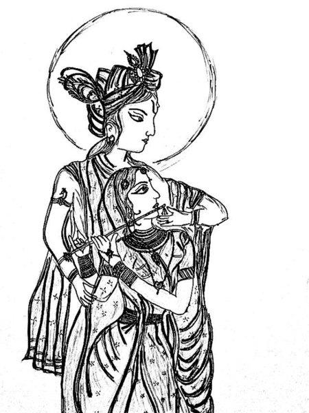 Vishnu Drawing Free Download Best Vishnu Drawing On Clipartmag Com