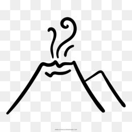 260x260 volcano drawing png and volcano drawing transparent clipart free