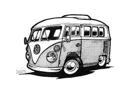 268x188 image result for combi van drawings combi vw bus, van drawing
