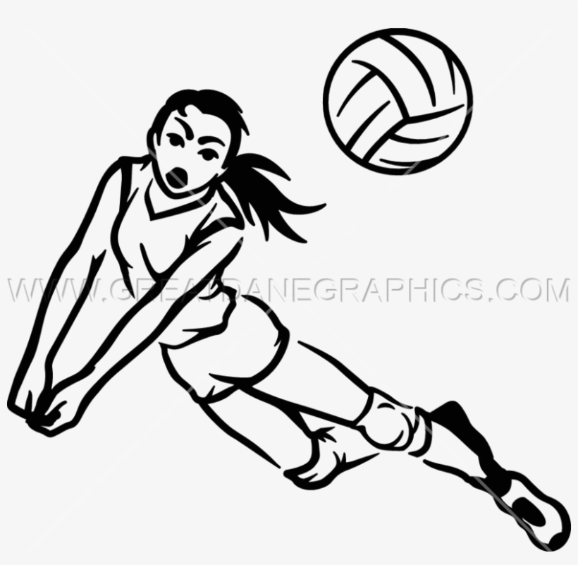 820x801 volleyball player drawing clipart drawing volleyball