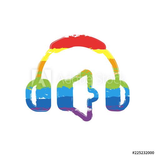 500x500 Headphones And Volume Level Min Volume Level Simple Icon