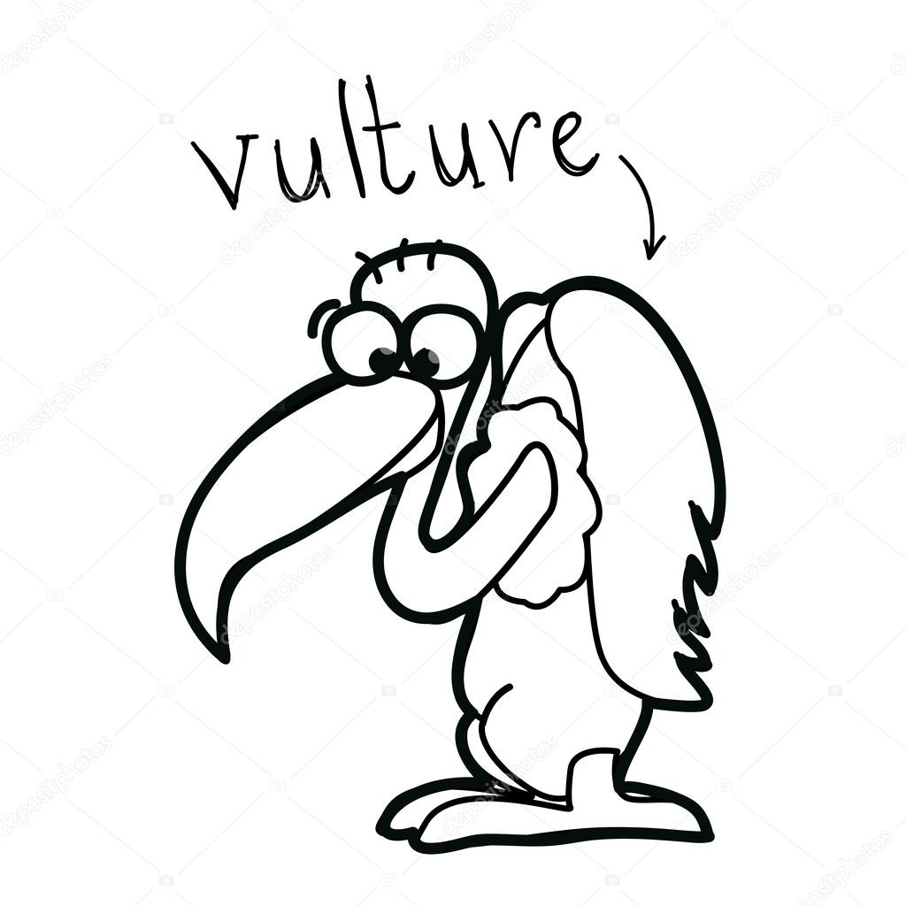 1024x1024 Vulture Drawing Flamingo For Free Download