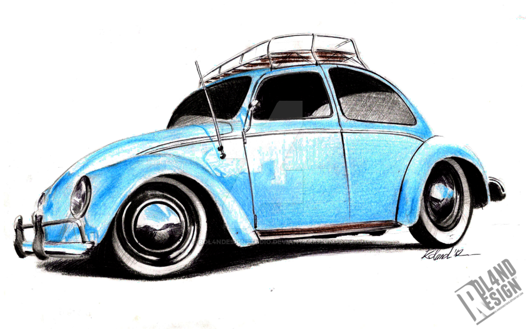 Vw Beetle Drawing Free Download On Clipartmag