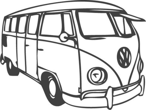 Vw Drawing Free Download On Clipartmag