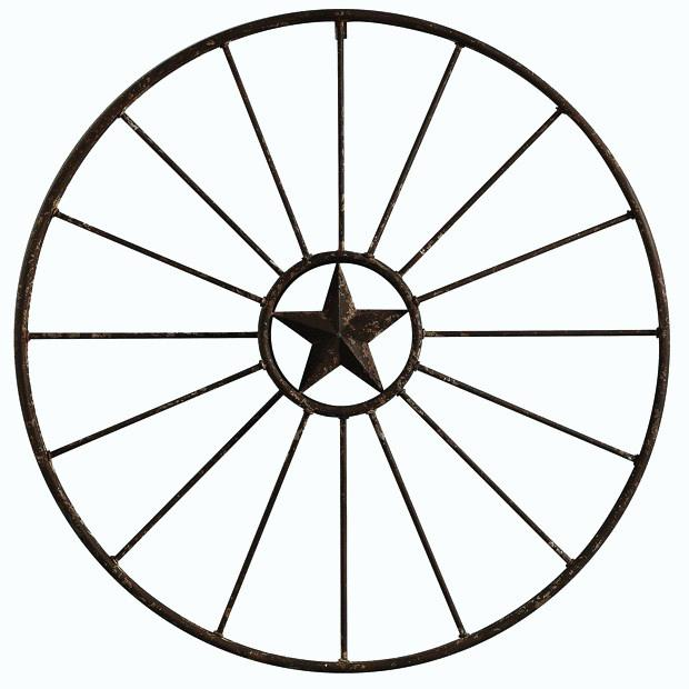 620x620 wagon wheel decor metal star wagon wheel wall decor rustic wagon