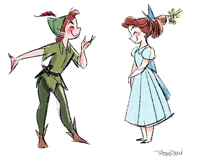 640x511 peter pan and wendy drawing peter x relationship peter pan wendy
