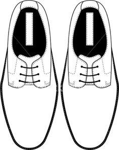 Walking Shoes Drawing