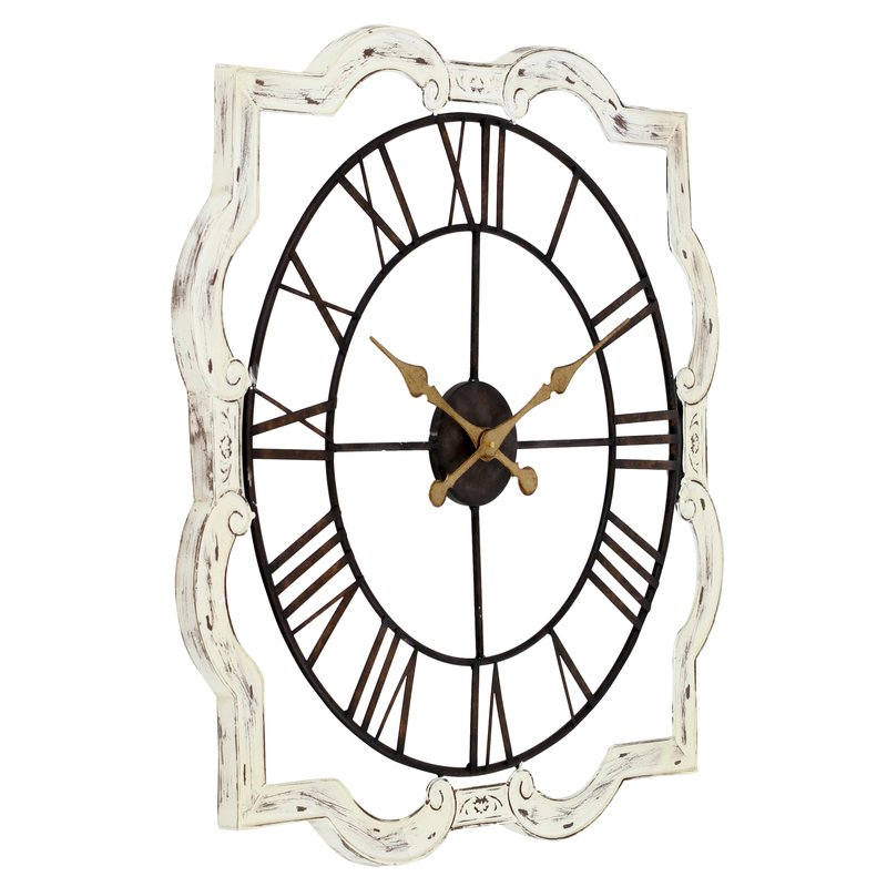 800x800 aspire oversized eloise french country wall clock reviews wayfair