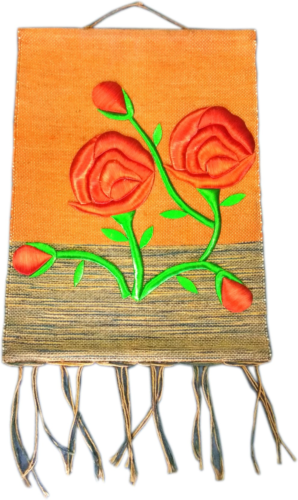 991x1664 Mgs Amazing Varanasi Famous Handcrafted Embroided Wall Hanging