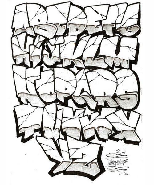 500x600 alphabeto graffiti world graffiti font, graffiti font style
