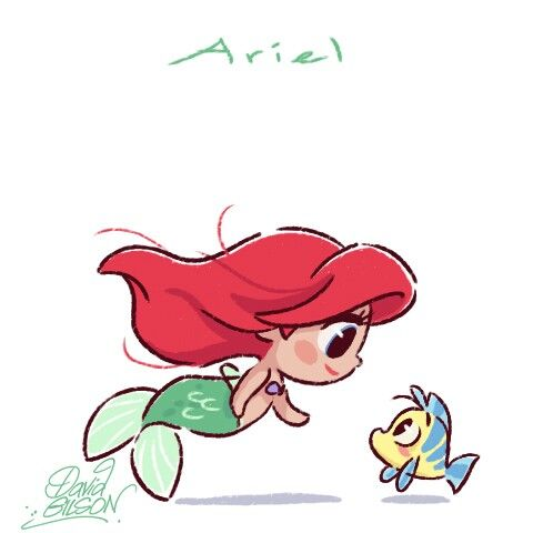 Walt Disney Characters Drawings