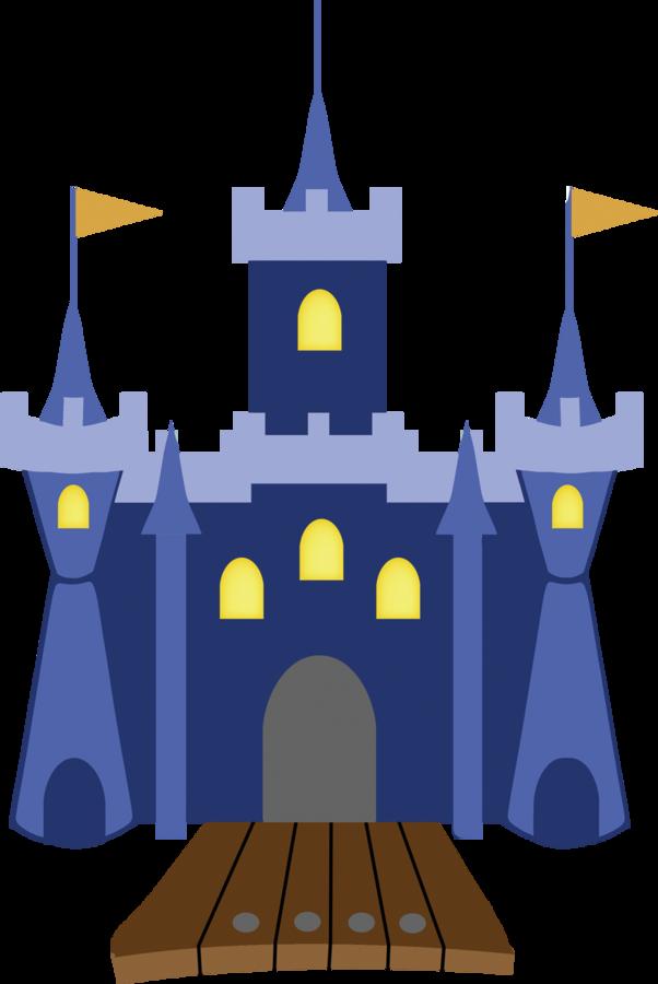 Walt Disney World Castle Drawing