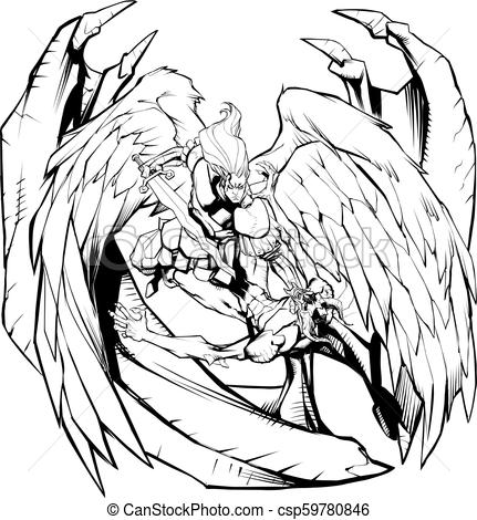 431x470 Archangel Drawings