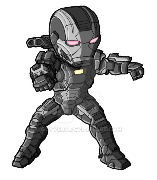 War Machine Drawing