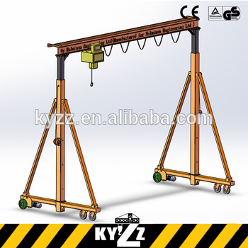 350x350 Gantry Crane Project Drawing For Warehouse Store Workshop,gantry