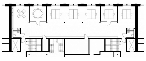 480x200 Warehouse Office Floorplan Office Warehouse Office, Warehouse