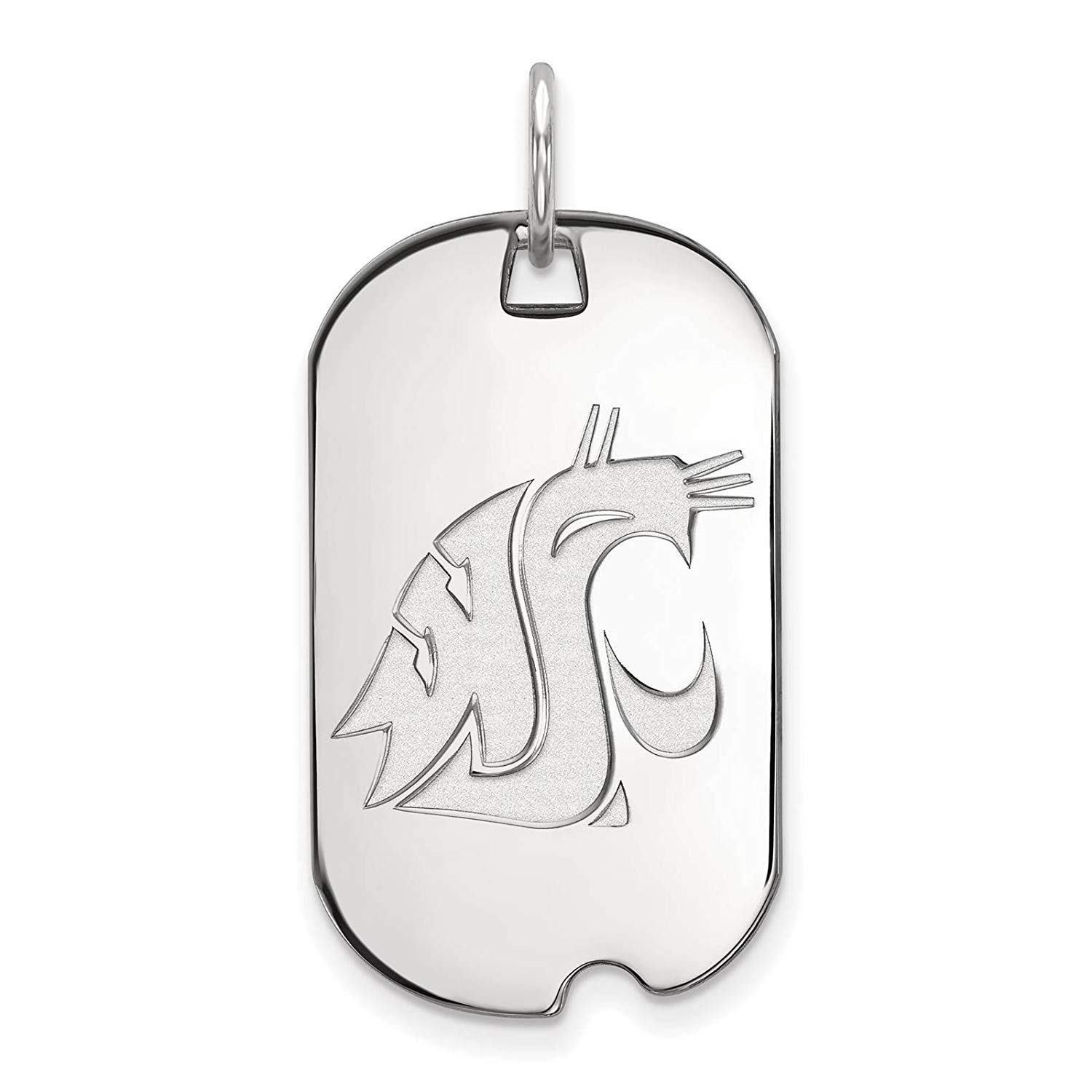 1500x1500 Sterling Silver Rhodium Plated Laser Cut