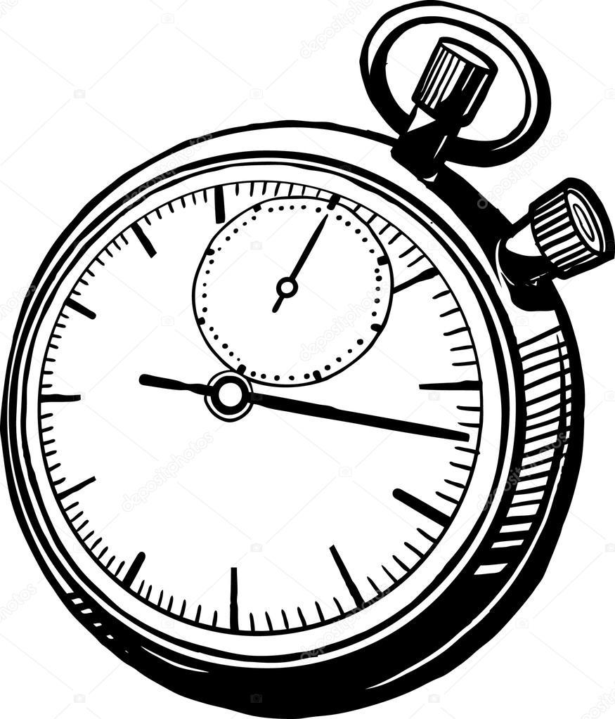 Watch Gears Drawing