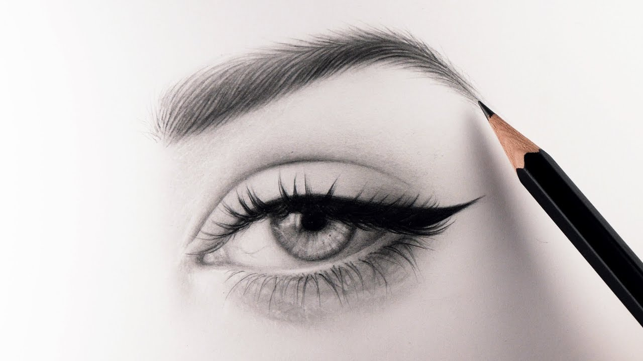 1280x720 How To Draw Realistic Eyebrows