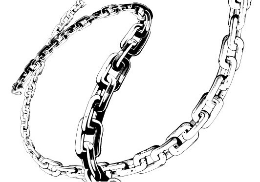 532x373 Chain Drawing, Pencil, Sketch, Colorful, Realistic Art Images