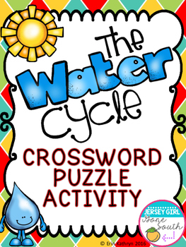 263x350 Water Cycle Crossword Puzzle Activity