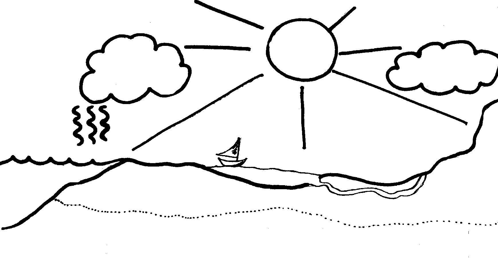 1736x900 Water Cycle Work Sheet