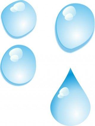 320x425 set of water drops clip art sewing rain drop drawing, drop