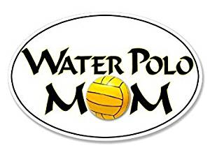 300x225 magnet oval water polo mom magnet