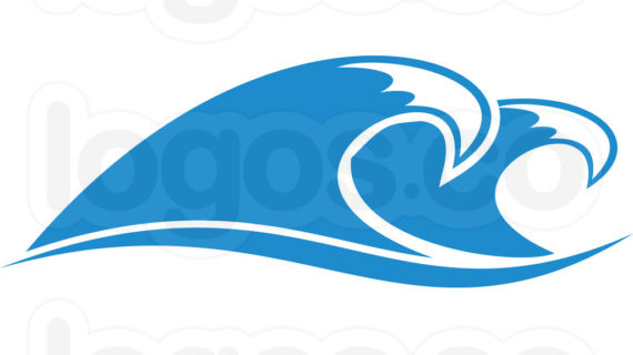 570x320 ocean wave line drawing ocean waves clipart